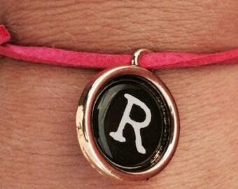 Adjustable Initial bracelets