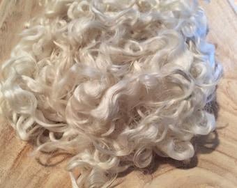 Curly wool locks
