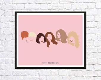 Steel Magnolias Movie Poster Print, Minimalist