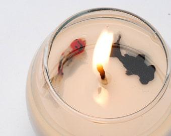 Mulpumso Fishsoycandle - Fish Bowl Candle 3 oz
