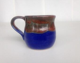 Blue and Iron Mug