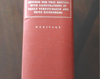 War and Peace in 1 Vol. Copyright 1938