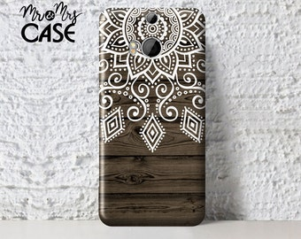 Wood&mandala case for Htc M10-Htc One M8-protect for Htc A9-case for Htc One Max-Htc One M9 plus-Htc One X cover-back cover-Htc One S cases