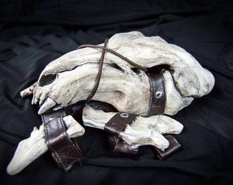 Ahamkara's Spine | Skull Pauldron