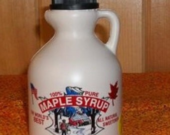 Certified-Organic-Pure-Maple-Syrup-Grade-A-1-Pint-16-oz-473ml-jug-Maine