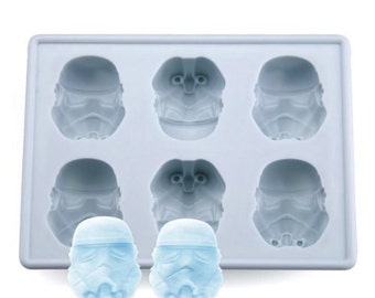Stormtrooper Mold STAR WARS Ice Tray Jelly Fondant Chocolate mold