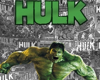 The Hulk  8.5x11 inch Photo Print