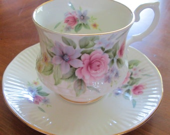 Royal Heritage Bone China Cup and Saucer