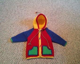 Crayola Baby Sweater Size 18-24 months