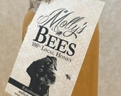 Molly's Bees local honey 1 lb jar