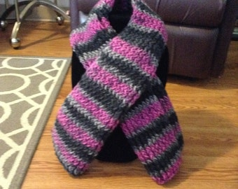 Knitted Long Scarf