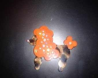 Retro Dog Brooch