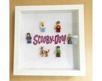 6 Figure Scooby Doo Frame
