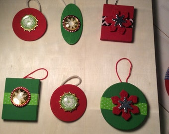 Christmas Ornaments Set of 6 (3)