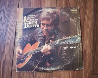 John Denver Poems, Prayers & Promises Vinyl Album
