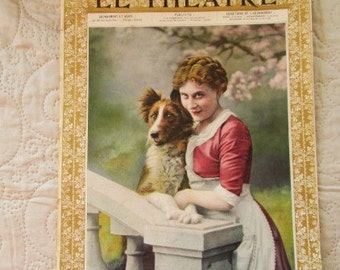 1906 LE THEATRE MAGAZINE, vintage theatre, french theatre, actors/actresses, theatre history, french plays