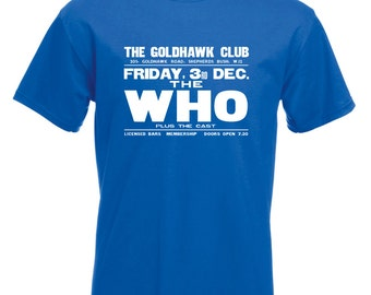 The Who Goldhawk Club  T Shirt