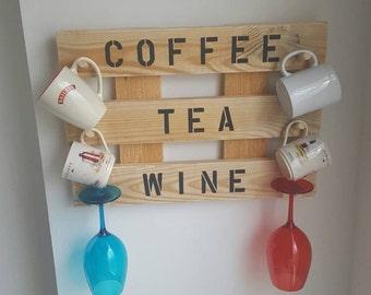 Coffee Mug and Wine Glass Holder