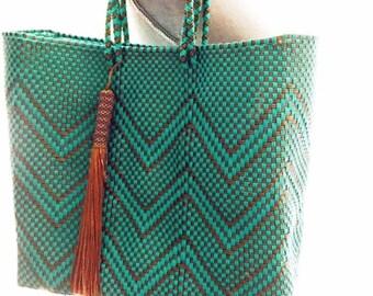 Bohemian Beach Bag-Eco Friendly Tote,Hand Bag Tassel