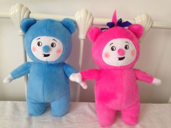 Like Toy Tv : Rare soft plush toys just like billy and bam from baby tv