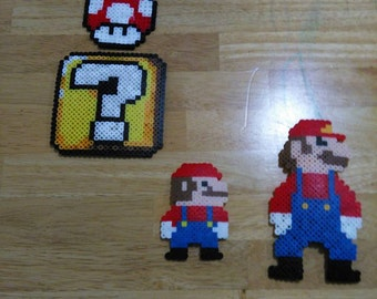 Super Mario Perler
