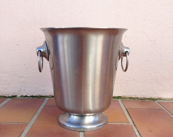 Vintage French Champagne French Ice Bucket Cooler Made in France