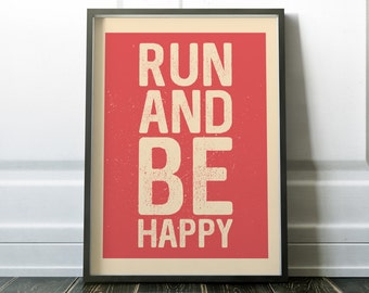 Wall Art Print, Quote Print, Fitness Print, Fitness Quote, Running Print, Sport Print, Sport Poster, Print, Wall Art, Gift for Runner, Quote
