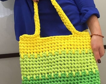 Knitted bag