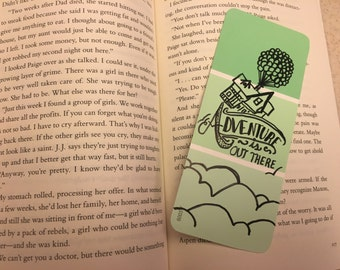 Adventure is Out There: Laminated Bookmark