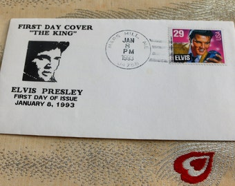 1993 Elvis Presley First Day of Issue