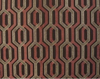 Upholstery/Drapery Jacquard Fabric Como 357 Auburn By The Yard