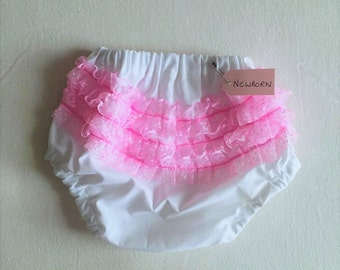 Baby girl frilly knickers