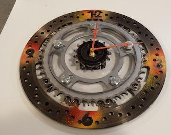 Motorsport Wall Clock