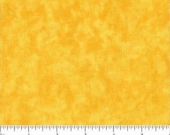 "108"" Quilt Backing Yellow Mustard Marble"