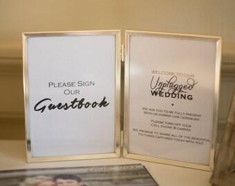 Wedding Guestbook Sign