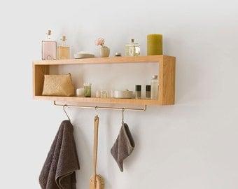 Wooden shelf - single