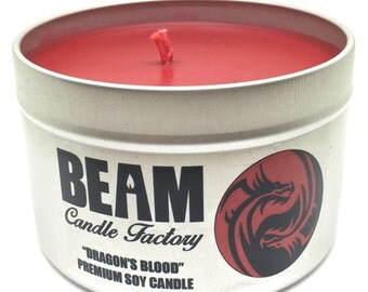 Dragon's Blood Soy Candle