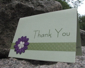 Personalized Thank You Cards with Envelopes