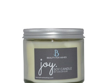 Joy - Hand Poured Soy Wax Candle