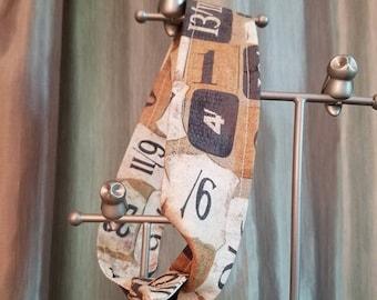 Steampunk Numbers Rockabilly Headband
