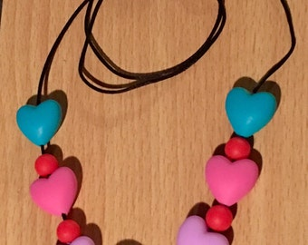 Gorgeous Girls Teething Necklace