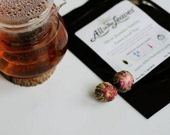 Silver Jasmine Sunrise Bulb Tea
