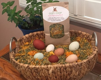 Super Egg Laying Blend Nesting Box Herbs For Chickens (8oz Bag)