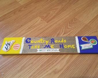 Single Plank Sports Sign