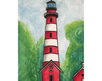 Assateague Va Lighthouse Print