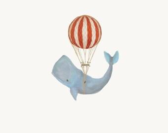 Nursery Whale Balloon