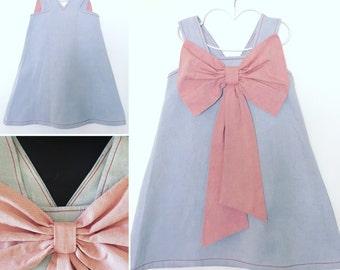 Giant bow dress