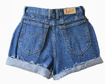 SALE - Dark Wash High Waisted