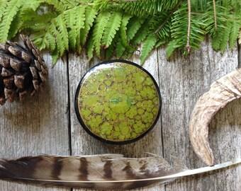 Green Oriental Style Vintage Treasure Box