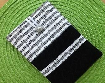 Music Themed Kindle Fire / IPad Mini Sleeve